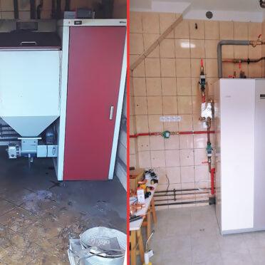 Modernizacja kotłowni – Łochowo
